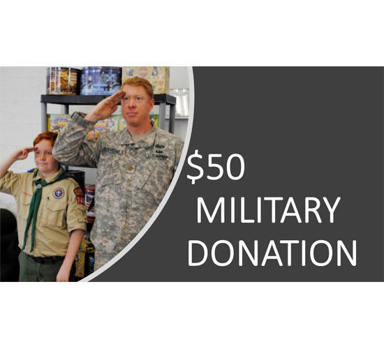 Picture of $50 Military Donation - Popcorn