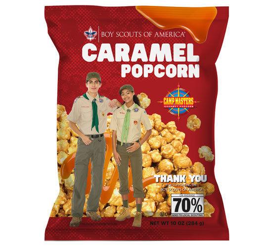 Picture of Caramel Popcorn Bag