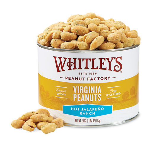 Picture of Hot Jalapeno Ranch Virginia Peanuts 20 oz.